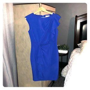 Calvin Klein Royal Blue Sleeveless Dress